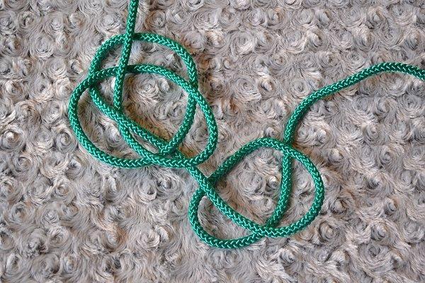 Náhrdelník z lana alebo šnúry II. 11