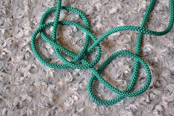 Náhrdelník z lana alebo šnúry II. 12