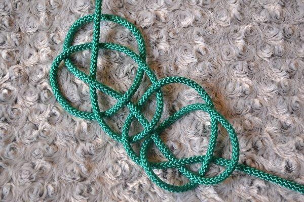 Náhrdelník z lana alebo šnúry II. 14