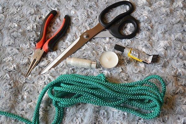 Náhrdelník z lana alebo šnúry II. 2