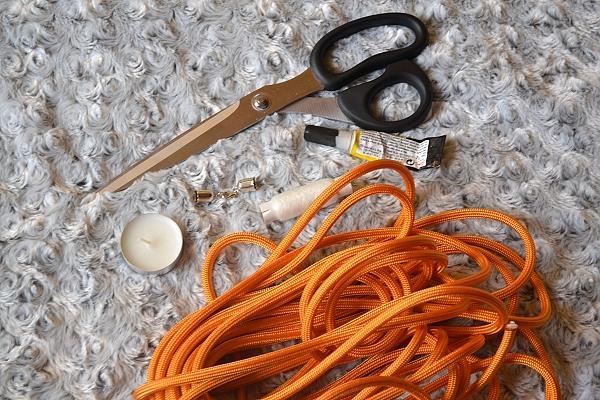 Náhrdelník z lana alebo šnúry I. 1