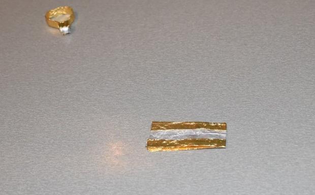 prstienky z pozlátkového papiera  7