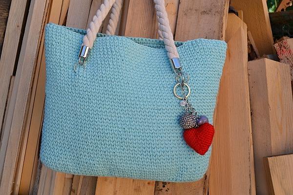 Háčkovaná taška  10
