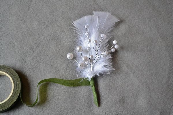 Svadobné pierko z peria 5