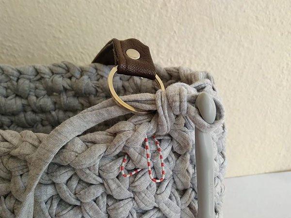 66ca5b85d Ako uháčkovať tašku z tričkoviny, Háčkovanie, fotopostup - Artmama.sk