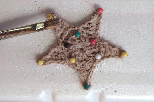 Postup na háčkovanú vianočnú hviezdu 2 17