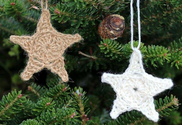 Postup na háčkovanú vianočnú hviezdu 2 19