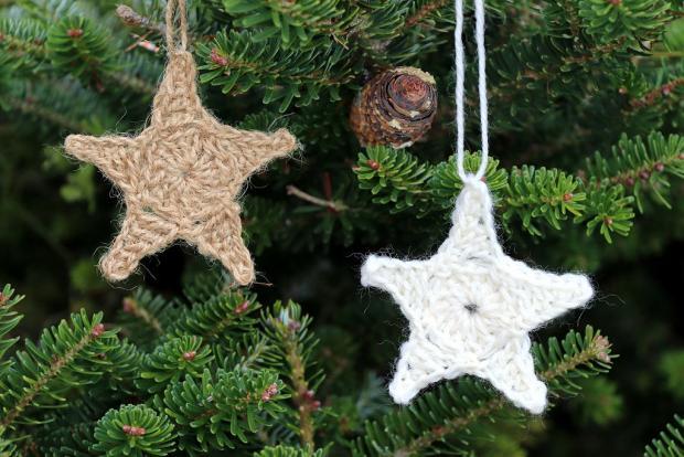 Postup na háčkovanú vianočnú hviezdu 2 1