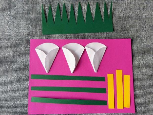 Postup na papierové kaly  3