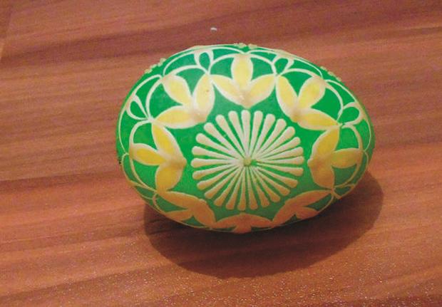 Batikované veľkonočné vajíčka  8