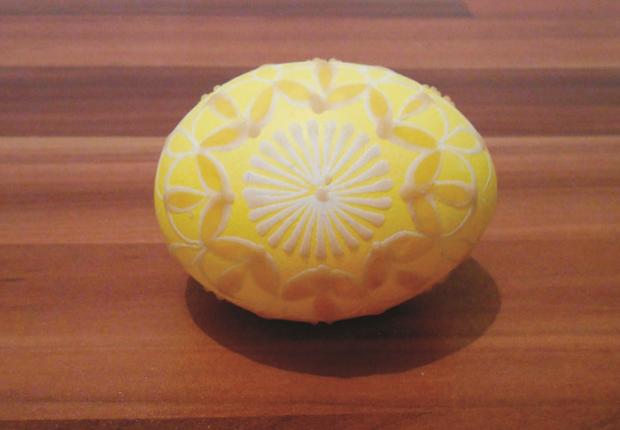 Batikované veľkonočné vajíčka  7