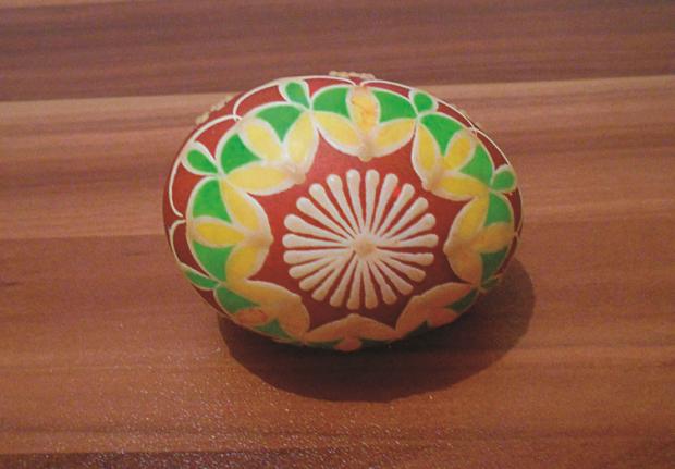 Batikované veľkonočné vajíčka  10