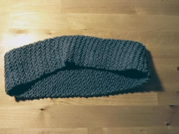 Pletená čiapka s patentom rybia kosť 3