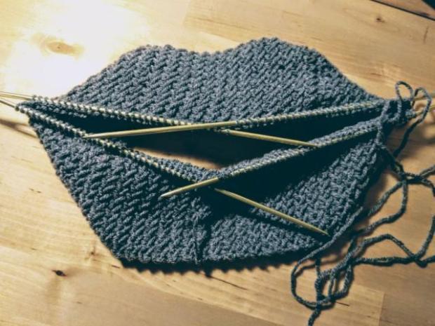 Pletená čiapka s patentom rybia kosť 5