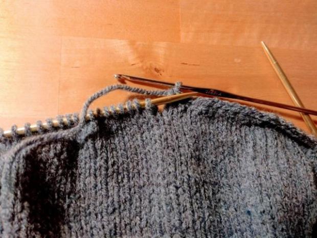 Pletená čiapka s patentom rybia kosť 6