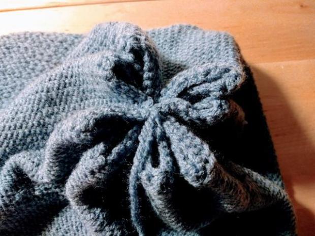 Pletená čiapka s patentom rybia kosť 8