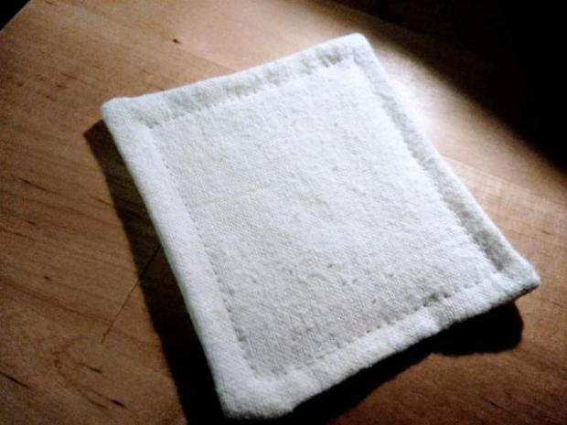 Textilné kozmetické tampóny na odličovanie 5