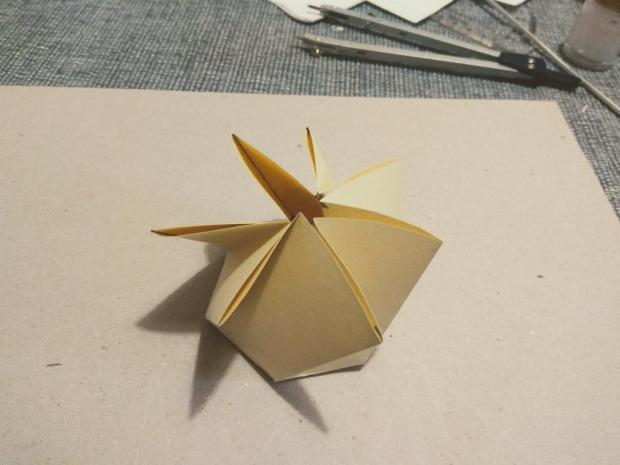 Malá papierová škatuľka na drobné darčeky 8
