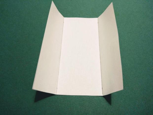 Papierová vianočná hviezda zo starej knihy 3