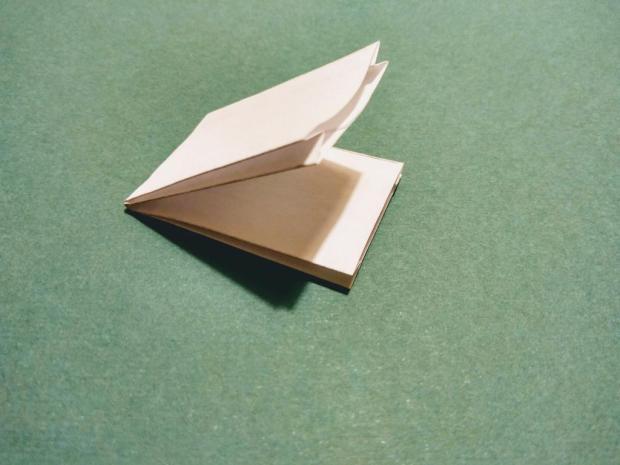 Papierová vianočná hviezda zo starej knihy 8