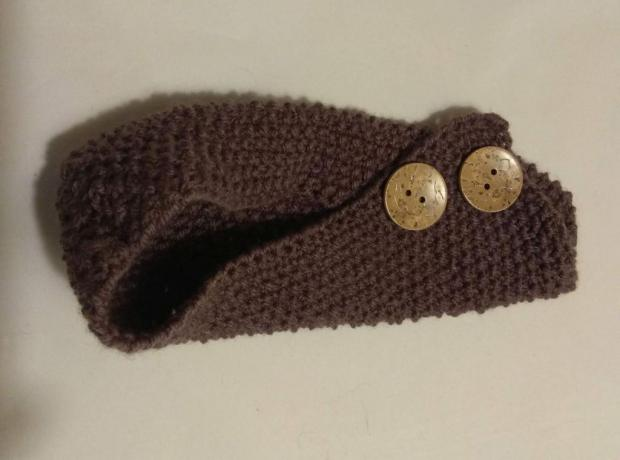 Návod na pletené papuče - zošité z jedného obdĺžnika. Veľmi jednoduché 5