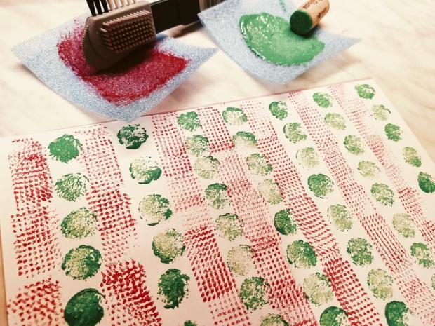 Ako si vyrobiť vlastný baliaci papier 2
