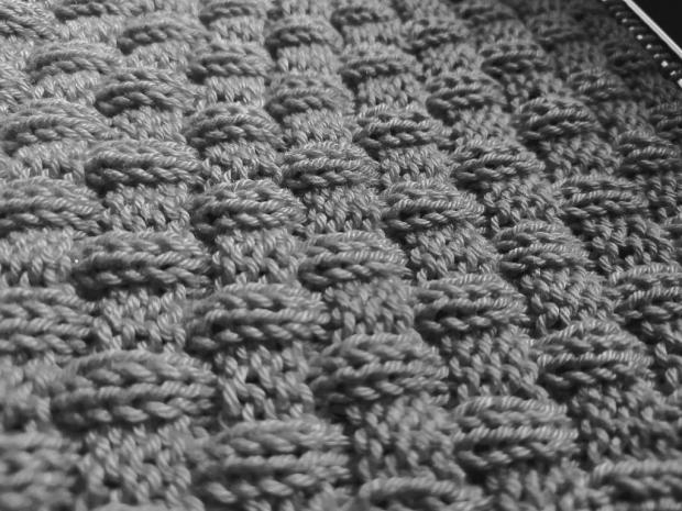 Pletenie pre začiatočníkov: Prelamovaný plastický vzor 2