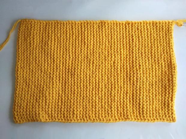 Pletená listová kabelka 2