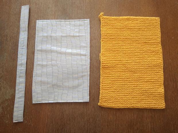 Pletená listová kabelka 3