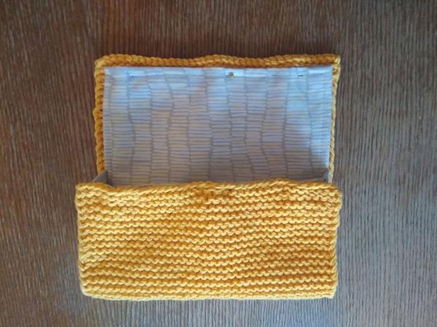 Pletená listová kabelka 5