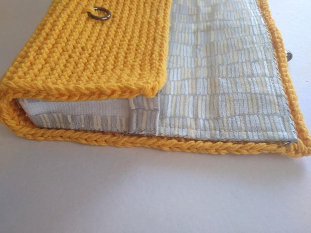 Pletená listová kabelka 6