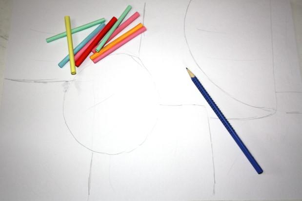 Fotopostup na obrázok z papierových ruličiek 5
