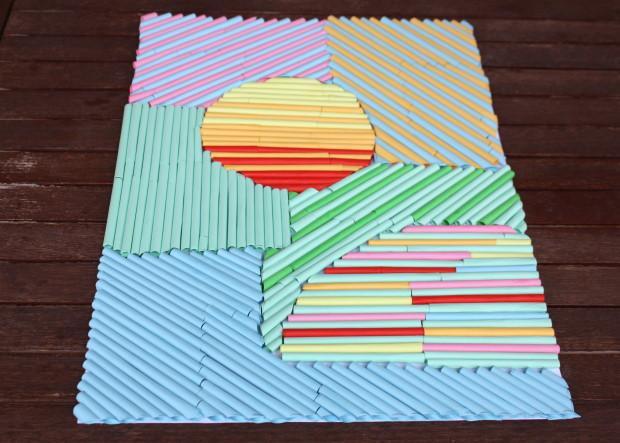 Fotopostup na obrázok z papierových ruličiek 10