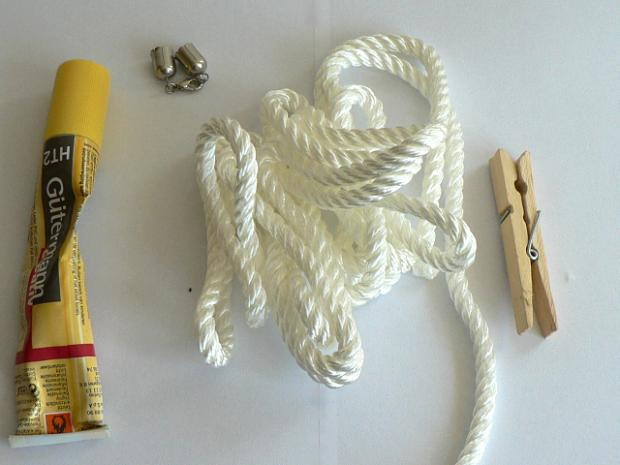 Náhrdelník inšpirovaný lodným lanom 2