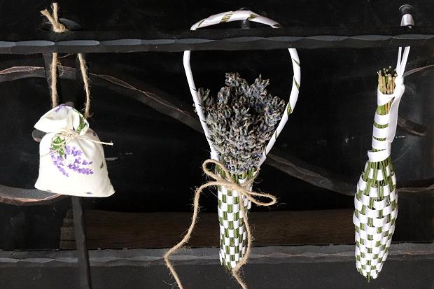 Fotopostup na levanduľovú kytičku, alebo košík 1