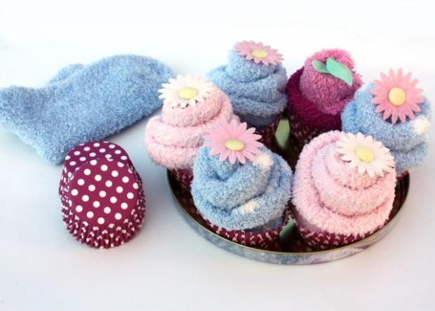 Ponožkovékytice a tortypre bábätko