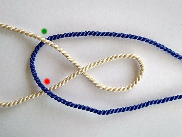 Postup na náramok z textilnej šnúry   4