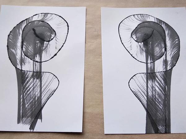 Postup ako vytvoriť jednoduché abstraktné obrázky 7