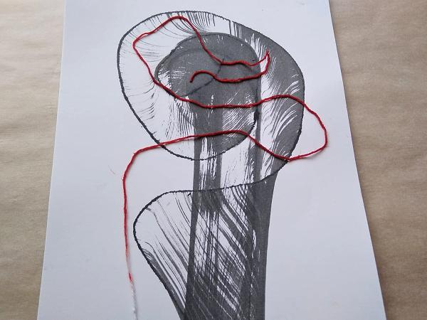 Postup ako vytvoriť jednoduché abstraktné obrázky 9