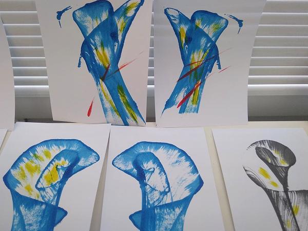 Postup ako vytvoriť jednoduché abstraktné obrázky 13