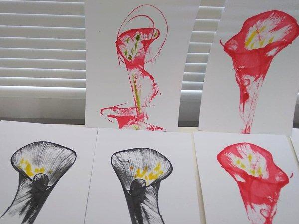 Postup ako vytvoriť jednoduché abstraktné obrázky 14
