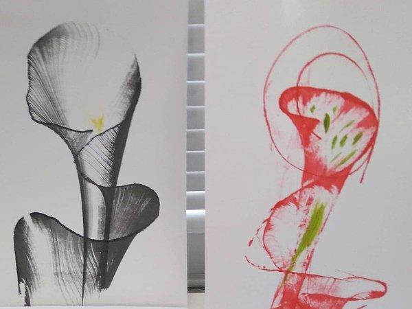 Postup ako vytvoriť jednoduché abstraktné obrázky 16