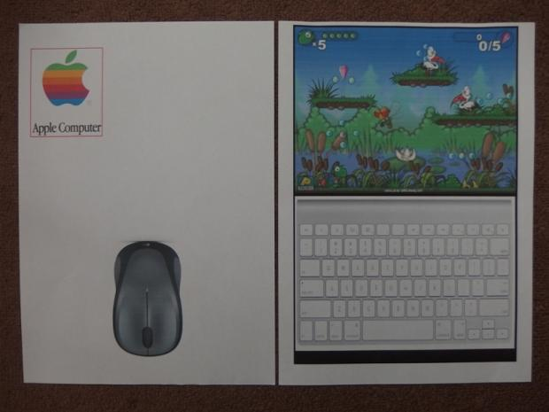 Papierový počítač 1