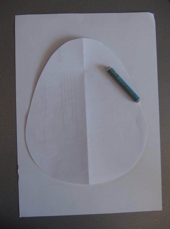 Fantómový obrázok - vajíčko  1