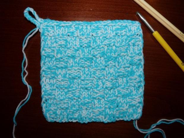 Pletený obal na nabíjačky 1