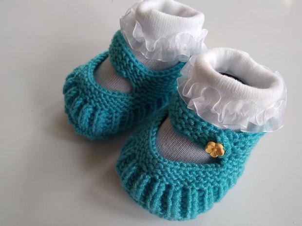 Papučky pre bábätko 14