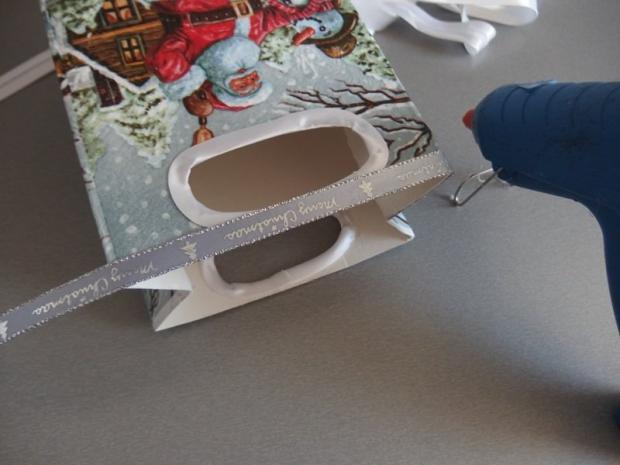 Ako sme s Maťkom vyrábali vianočné krabičky  10