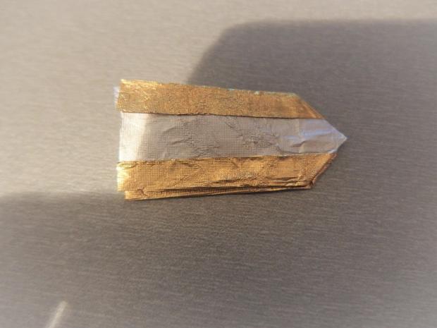 prstienky z pozlátkového papiera  9