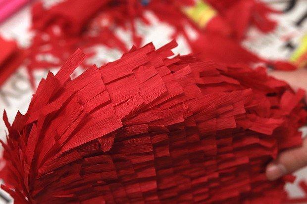Valentínska piňáta - fotopostup 13