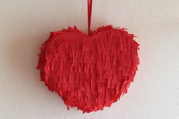Valentínska piňáta - fotopostup 1